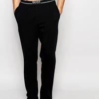 Hugo Boss Loungepants With Contrast Waistband In Loose Fit at asos.com