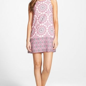 Junior Women's Everly Mosaic Print Shift Dress