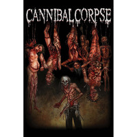 Cannibal Corpse Poster Flag