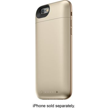 mophie - juice pack air External Battery Case for Apple® iPhone® 6 - Gold