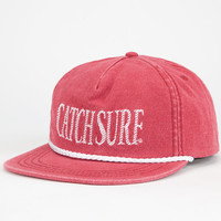 Catch Surf Hollywood Mens Snapback Hat Red One Size For Men 25504730001