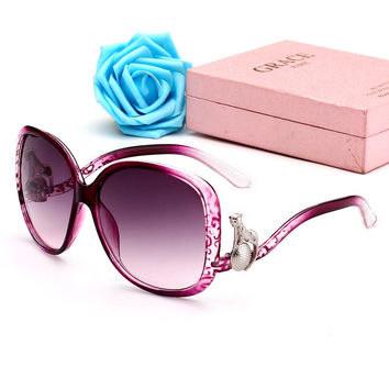 Ladies Stylish Mirror Sunglasses [11405237775]