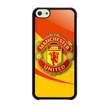 manchester united iphone 5c case cover  number 1