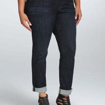 Torrid Boyfriend Jean - Dark Wash (Short)