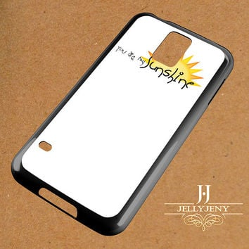 You Are My Sunshine Clipart Samsung Galaxy S3 S4 S5 S6 S6 Edge Case | Galaxy Note 3 4 Case
