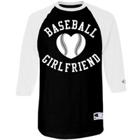 Baseball Girlfriend Baseball Raglan Shirt