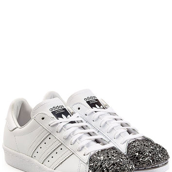 Adidas Originals - Leather Superstar 80s Leather Sneakers