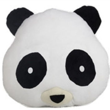 Panda Emoji Pillow