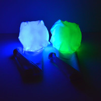 LED Sock Poi: 9-Mode Weighted