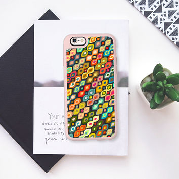 Varsha ikat pop iPhone 6s case by Sharon Turner | Casetify