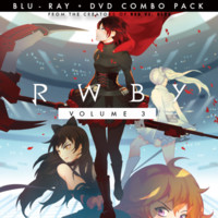 RWBY Volume 3 Blu-Ray / DVD combo pack