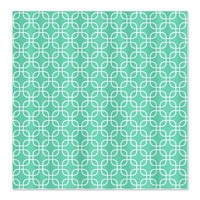 Modern Mint Square Pattern Shower Curtain> Modern Mint Square Pattern> Cierra's Pattern Decor and Gifts