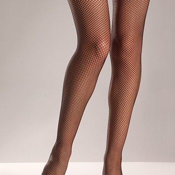 Fishnet Thigh High