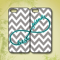 chevron Best Friends - iphone 4 case, iphone 5 case, ipod 5 case, ipod 4 case, ipod touch case, ipod touch 4,  ipod touch 5, infinity