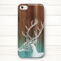 iPhone 5 Case, iPhone 5 Cases, iPhone 5 Wrap Around Case - Deer Wood - 188