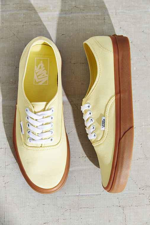 260da2d8cd37aa Vans Brushed Twill Authentic Sneaker from Urban Outfitters