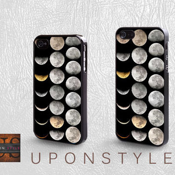 Phone Cases, iPhone 5 Case, iPhone 5s Case, iPhone 4 Case, iPhone 4s case, MoonPhases, iPhone Case, Skins, Case for iphone, Case No-450