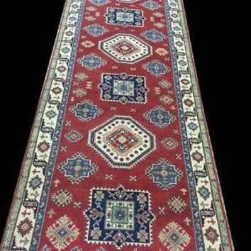 Red Kazak Perfect Gallery Runner Wide & long Wool Handmade Rug 5' x 16' Rug