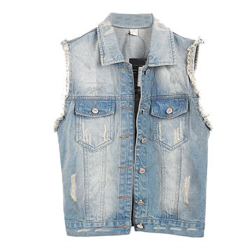 Denim Vest Women
