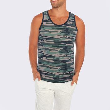 Miami Style® - Camouflage Tank Top