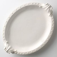 Beast's Feast Platter by Anthropologie in White Size: One Size House & Home