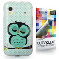 Art of Owl 3330 back cover, Samsung Galaxy Ace