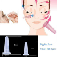 6 PC SET for Face Anti-Aging Silicone eye Circulation, Facial Lifting & Wrinkles