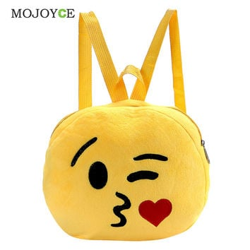 Mojoyce Character Cotton Fabric Backpacks For Girls