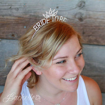 """Bride To Be"" Tiara 