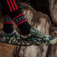 hcxx Vans S68 Camouflage Low Tops Flats Shoes Sneakers Sport Shoes