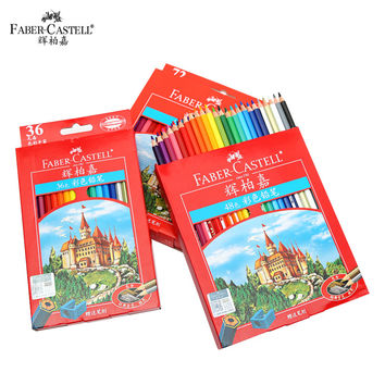 Faber-Castell 36 48 72 Colors Classic Castle Oily Color Pencils Set Oil Painting Drawing Art Supplies Student Stationery School