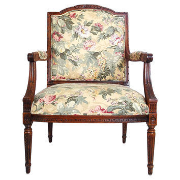 Louis XVI-Style Occasional Chair