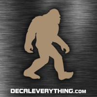Sasquatch Decal - Bigfoot Decal