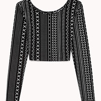 Geo Craze Crop Top