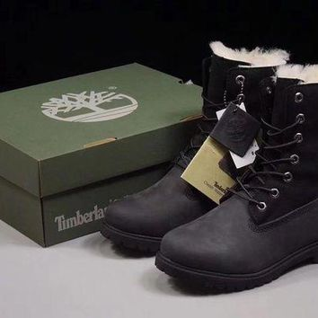 DCC3W Timberland 17467 Winter Women BOOTS Color Black
