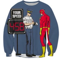 Cool Flash Pulled Over Sweatshirt