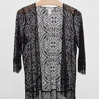 Band Of Gypsies Lace Cardigan