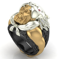King Marduk Ring 18 k Masterpiece Appraised 15 K 60 Percent Off
