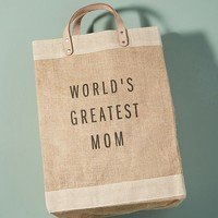 World's Greatest Mom Tote Bag