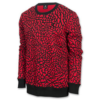 Men's Jordan Prime Flight Fleece Crew Sweatshirt