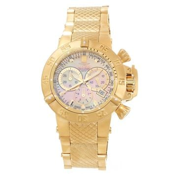 Invicta 14597 Women's Jason Taylor Subaqua Noma III MOP Dial Chronograph Watch