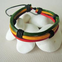 Friendship bracelets, Wrap Leather Bracelet
