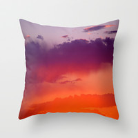 Arizona Throw Pillow by Laura Santeler