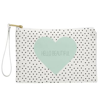 Allyson Johnson Hello Beautiful Heart Pouch