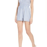 Row A Smocked Romper | Nordstrom