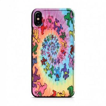 The Grateful Dead Dancing Bears iPhone X Case