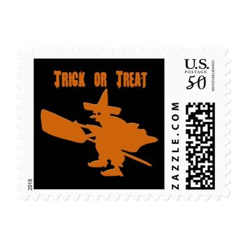 Orange Witch Postage
