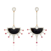 One-Of-A-Kind Onyx Spiky Earrings | Moda Operandi