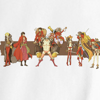 One Piece Mugiwara Pirates Luffy Zoro Usopp Sanji Brook Chopper Film Z Nico Robin Tony Franky anime manga T-Shirt