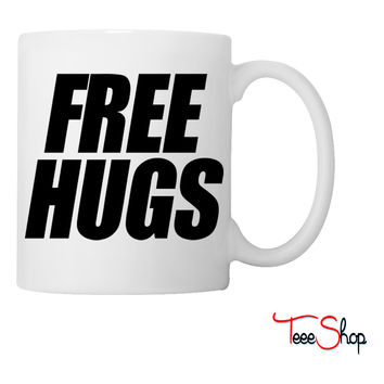 Free Hugs huge hug me Coffee & Tea Mug